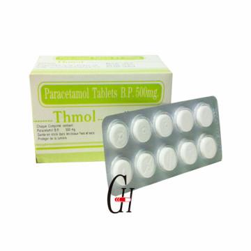 Paracetamol tabletas 500 mg