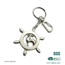 2016 Newest Die Casting Key Chain with Nickel Plating