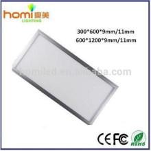 600 * 1200mm painel luz LED, led de iluminação do painel, levou painel 300 * 600