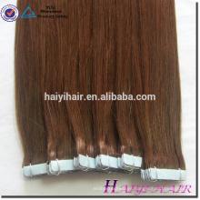 Extensiones de cabello con cinta doble cara azul