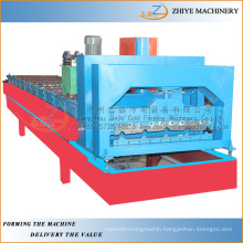 steel glazed wall and roof panel cold forming machine/High quality hot selling glazed steel tiles making machine
