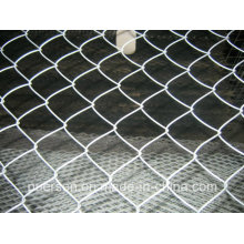 Hot Dipped&Electric Galvanized Chain Link Fence, Chain Link Wire Mesh