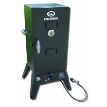 Fumador de barbacoa de gas de baja presión de 30 '' con gabinete para fumar