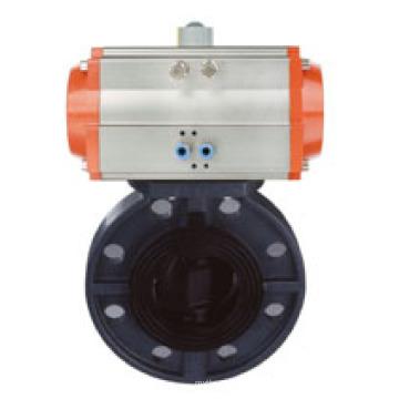 Pneumatische Kunststoff Absperrklappe für Wasseraufbereitungs-System