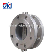 Wafer 1 Spring Adjustable Threaded Size 12 3 4 Stainless Steel Dual Plate 5 Check Valve Fitting