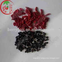 Dried Qinghai organic black goji berry/Black goji berries price