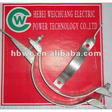 OPGW línea poste hardware-galvanizado acero abrazo aro