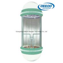 Schöner guter Design-Beobachtungs-Aufzug im Einkaufszentrum