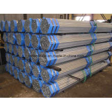 ERW Pre Galvanized Round Steel Pipe and Tube
