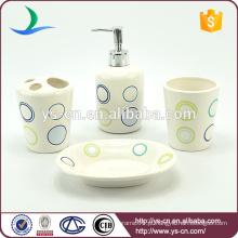 Cerâmica, banho, sabonetes, prato, cerâmico, banheiro, jogo, lar, hotel