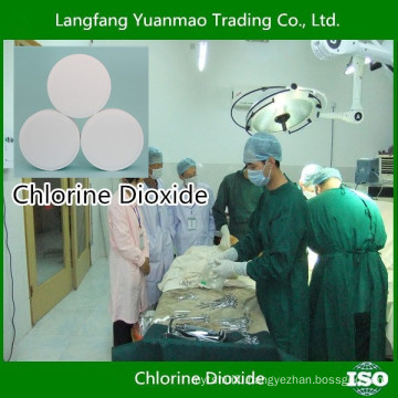 Hospital Disinfection Chemical Chlorine Dioxide Disinfectant