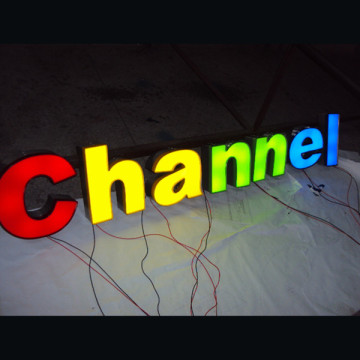 Акриловая LED Lit Letter Sign для бизнеса
