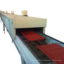 xinnuo камень-хэбэй с покрытием металлическая крыша плитка делая машину