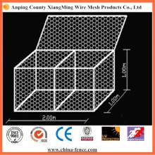 Galvanized or PVC Coated Hexagonal Gabion Wire Mesh