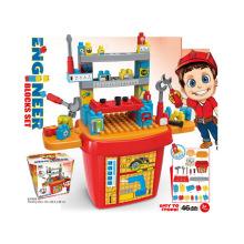 Crianças brinquedo conjunto de ferramentas brinquedo tijolos conjunto (h5931058)