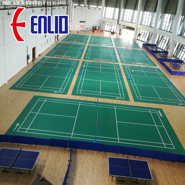badminton match sports court floor