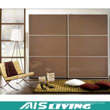 Glossy Double Colour Sliding Wardrobe Closet (AIS-W369)