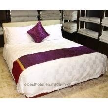 Hotel Linen Suppliers Luxury Удобный диван100% Хлопок 400tc 60s / 80s Обычный / Жаккардовый /