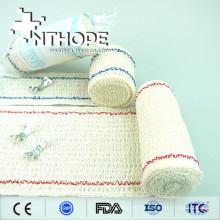 Medizinische elastische Kreppbandage dehnt Länge 4.5m aus