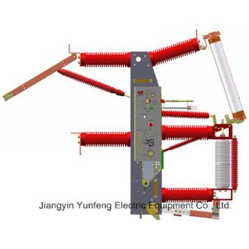 Interruptor de interrupción de carga al vacío integrado Cross-Crossing de 40.5kv