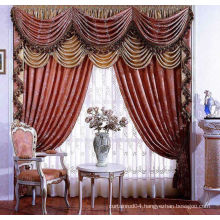 Roman blind curtain design