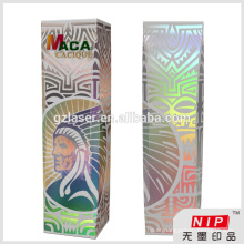 Luxury 3d hologram box for perfume packaging