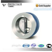Válvula de verificação da bola da bolacha do ferro cinzento 10 fornecedor da porcelana da polegada