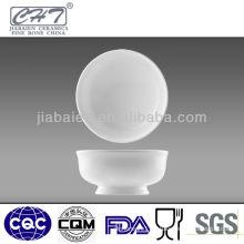 High grade super white ceramic fruit soup bowl