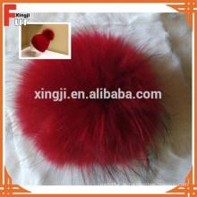 China Lieferant Waschbärpelz Pompons