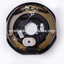 """electric backing plate-12"""" electric drum brake with adjuster cable for trailer"""