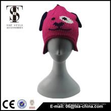 Diseño lindo para los niños del sombrero animal