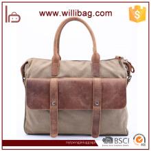 Fourre-tout d'affaires de qualité supérieure Messenger Bag Toile de loisirs hommes sac à main