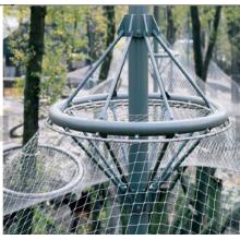 Protección animal flexible Cable de acero inoxidable Malla de alambre