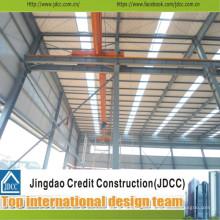 Entrepôt de construction en acier préfabriqué