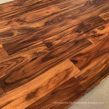 Suelo de madera maciza de acacia de hoja pequeña