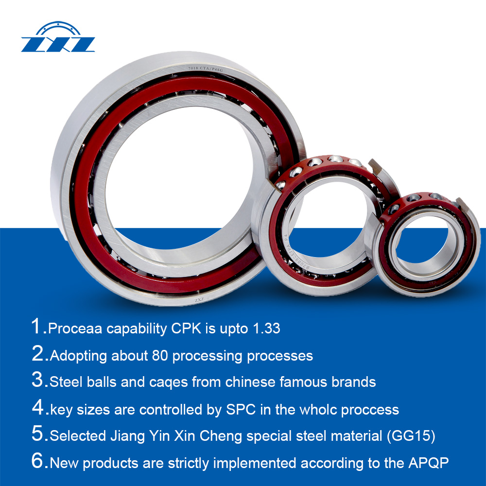 Super precision angular contact ball bearings from XCC Group
