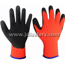 Latex Work Glove with Brushed Inside for Warm (LY2036)