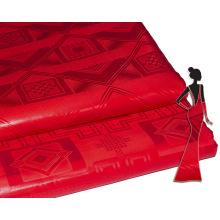 Tissu africain de couture de Bazin Riche de qualité supérieure 100% de coton brut de prix de gros usine pour la noce