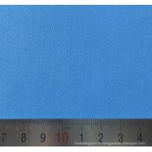 Coton Polyester bleu T/C sergé uniforme