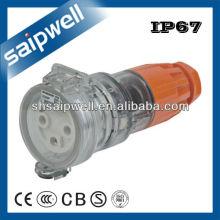 250V 32A Три Фаза 3 Круглый Удлинитель