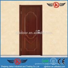 JK-HW9103 Conception de porte en panneau de bois fabriquée avec des plaques MDF