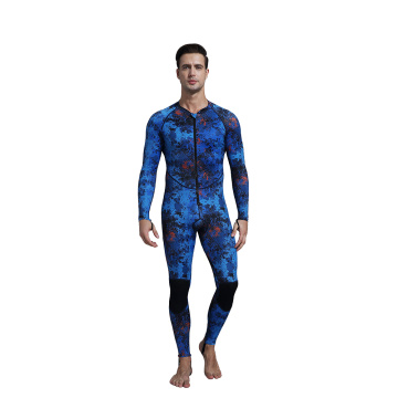 Seaskin Zip Depan One Piece Swimwear Rash Guard