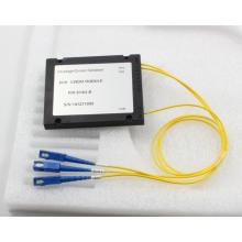 2CH CWDM con paquete de caja de ABS y conector SC
