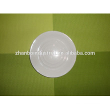 Durable Porcelain for hotel used dish