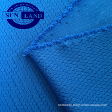 100% polyester 3D honeycomb mesh fabric for fashion clothing
