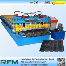FX russia 1100 glazed tile roll forming machine