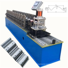 China rolling shutter door lath steel strip making roll forming machine Perforated roller shutter door slat roll forming machine