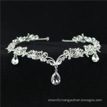 Romantic Ballet Forehead Headpiece Crystal Rhinestone Drop ballet hair accessories Frontlet