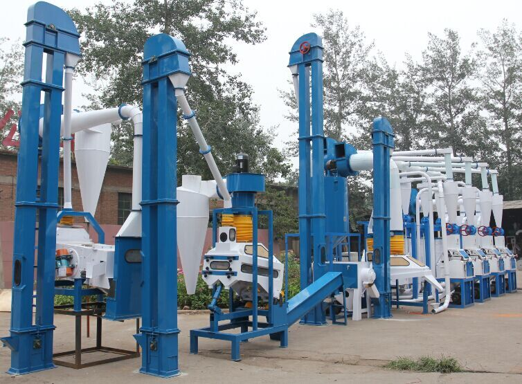 Corn flour mill