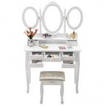 Vanity Modern Mirrored Dressing Table